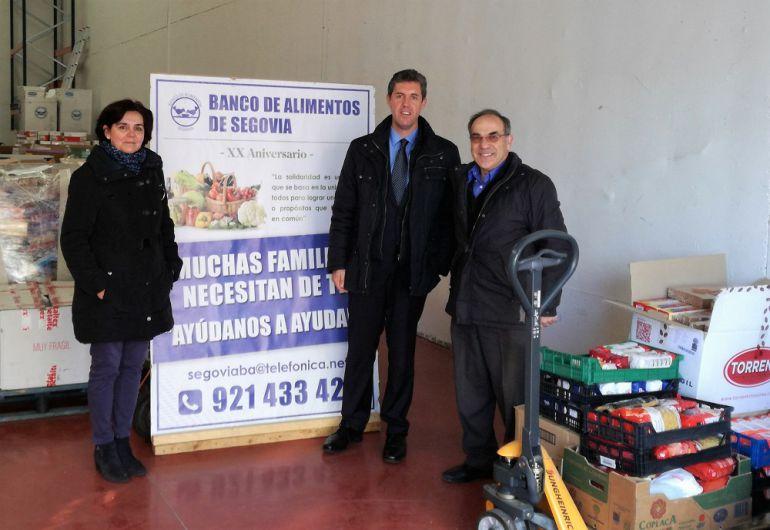 Más de 6.000 euros donados por Bankia al Banco de Alimentos
