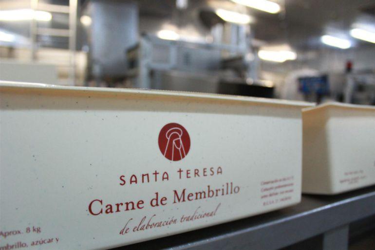 Imagen de la fábrica de membrillo en Ávila