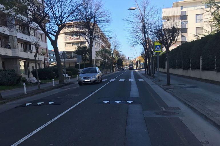 Cojines berlineses para reducir la velocidad | SER Castro Urdiales
