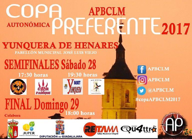 Yunquera de Henares sede de la Copa APBCLM de Baloncesto