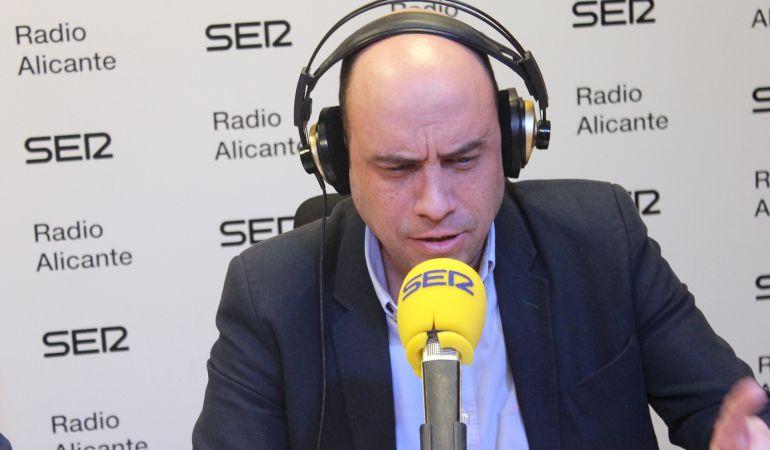 Gabriel Echávarri durante su intervención en 'Díselo a tu alcalde'