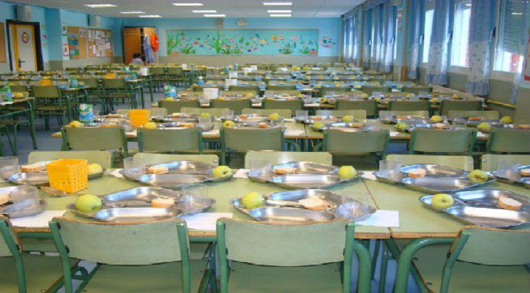 Huelga en comedores escolares