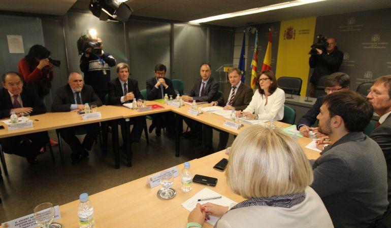 La reunión multilateral celebrada este viernes en Delegación de Gobierno