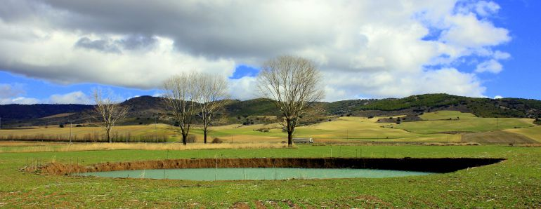 Lagunas del río Moscas.