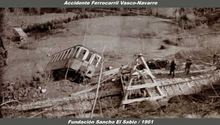 ACCIDENTE FERROCARRIL VASCO-NAVARRO