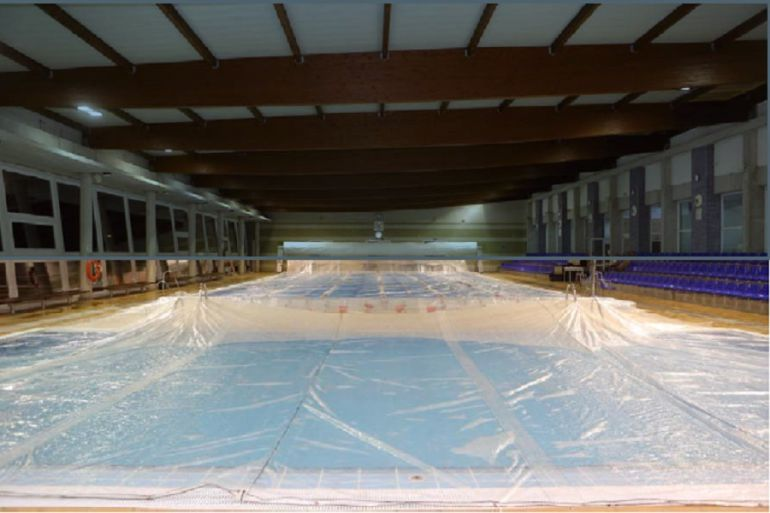 Manta t rmica para piscinas climatizadas radio c rdoba for Piscinas ponferrada