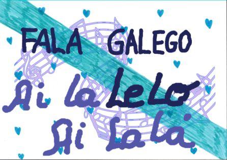 Cartel modificado en el que se sigue leyendo la palabra Lelo, aunque ahora como parte de una melodía