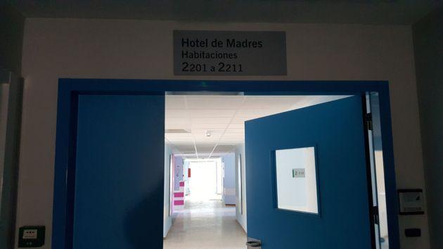 Aspecto de una de las plantas del viejo hospital de Traumatología de Granada tras la reforma