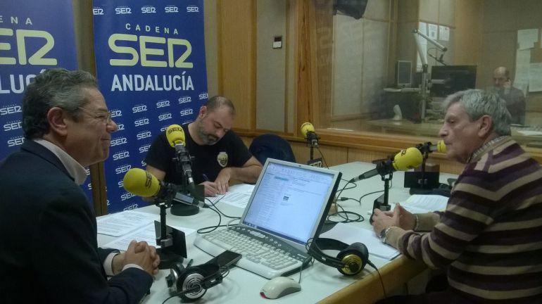 Emilio López y Juan Martín Caparrós