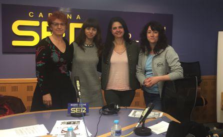 Purificación Heras, Rosario Tur, Ängela Sastre y Berenice Guerri. Mujeres científicas que han participado en el especial con motivo del Día Internacional de la Mujer y la Niña en la Ciencia