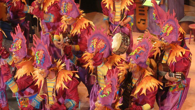 Carnaval c diz obdc carapapas y la chirigota del canijo for Cuartos de final carnaval 2017