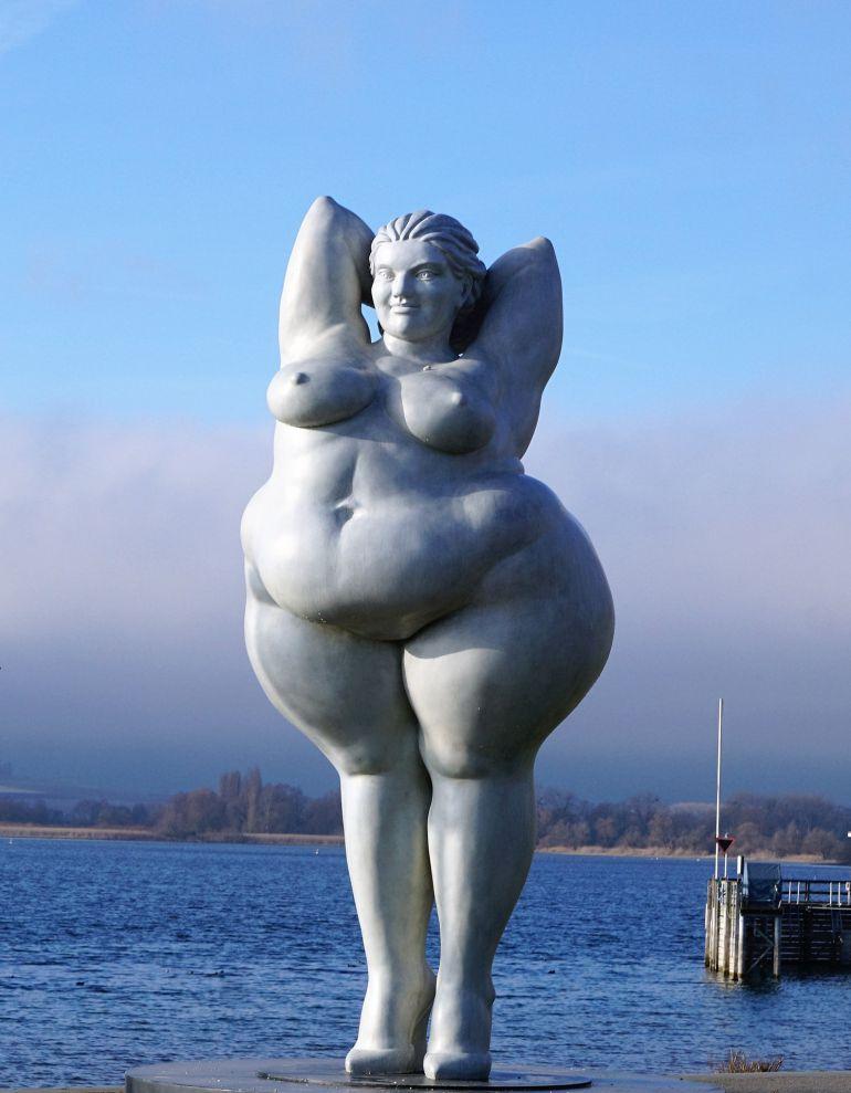 Escultura en el Lago Constanza (Alemania)