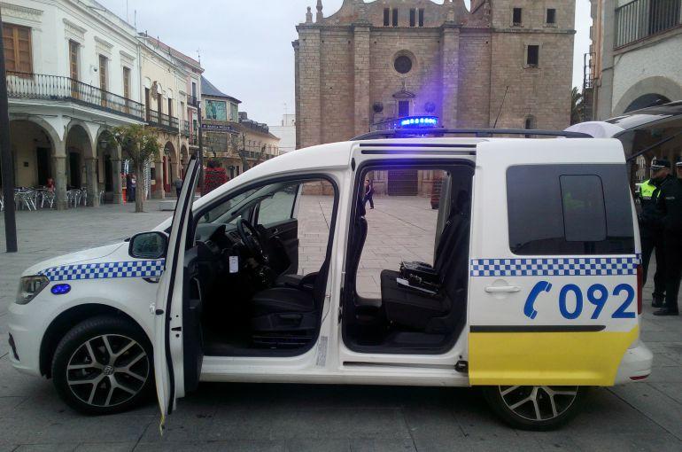 Nuevo vehículo de la Policía Local de Villanueva de la Serena