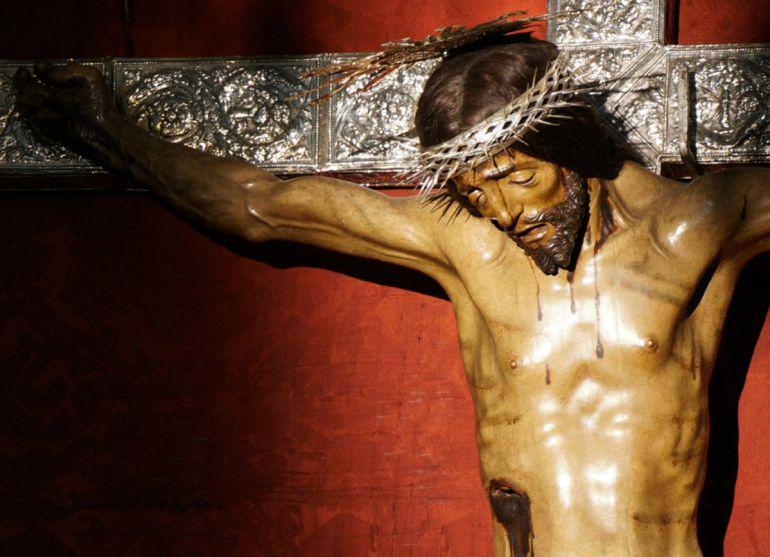 Imagen del Cristo de San Agustín que 2020 cumplirá 500 años de su hechura, atribuida a Jacobo Florentino