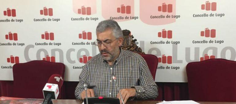 Miguel Fernández, portavoz del Concello de Lugo