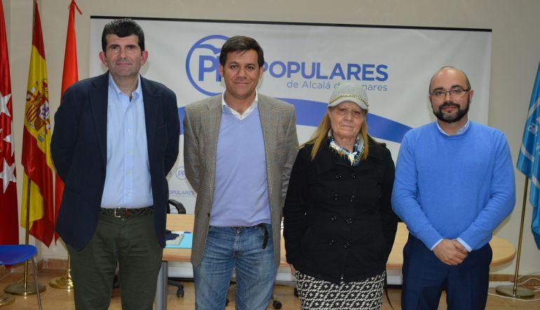 Compromisarios del PP de Alcalá de Henares al 18º Congreso Nacional