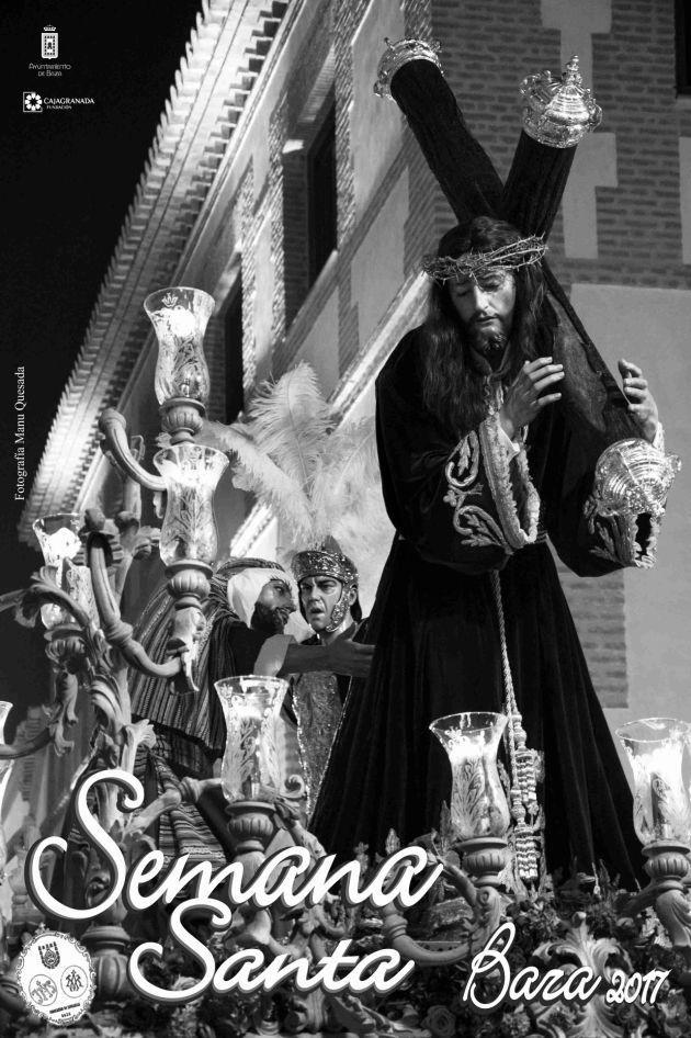 Cartel oficial de la Semana Santa 2017 de Baza (Granada)