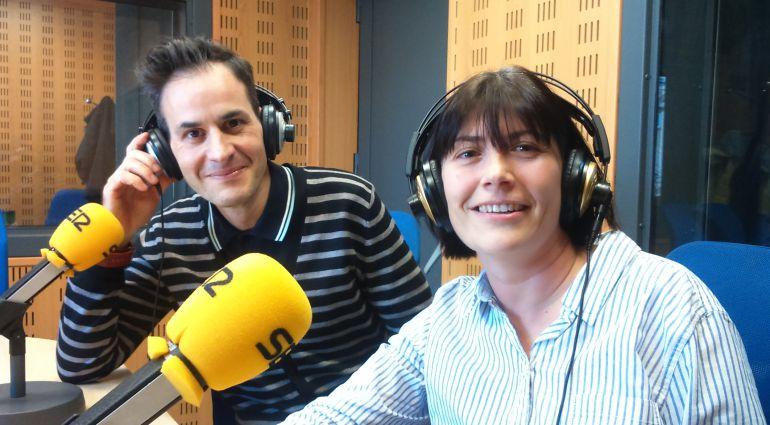 Miguel Santamarina y Arancha Alcalde. Asociación Castilla y León Travel Bloggers