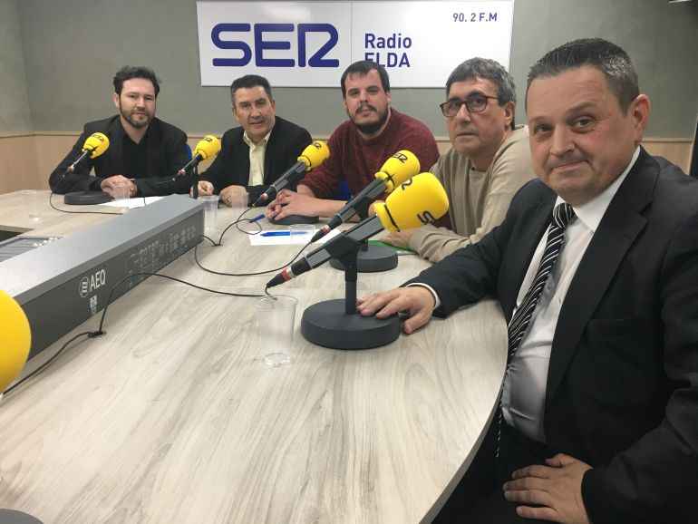 Los Portavoces en Radio Elda Cadena SER