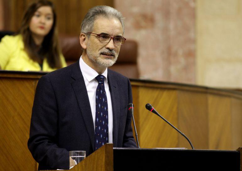 Comparecencia este miércoles del consejero de Salud Aquilino Alonso en la Cámara andaluza