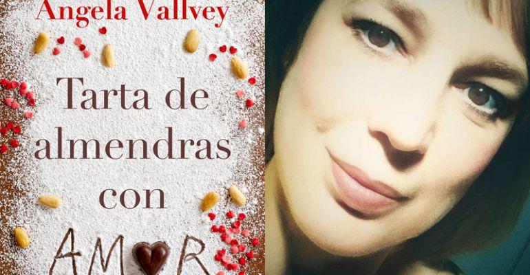 """""""Tarta de almendras con amor"""", la escritora Ángela Vallvey, se convierte en una de las grandes apuestas literarias de este 2017"""