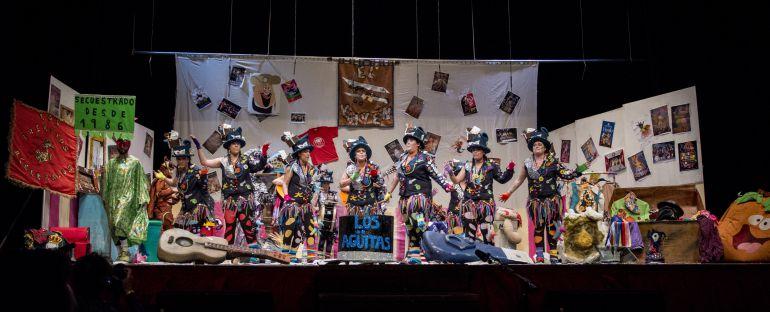 Murga 'Murguer Queen'. Actuación en la cuarta noche del Concurso de Murgas del Carnaval de Badajoz 2017