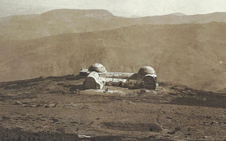 Foto antigua del Albergue San Francisco de Sierra Nevada (Granada)