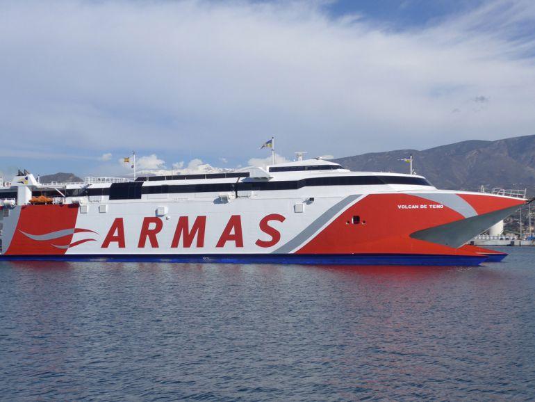 Nuevo barco rápido para la línea marítima Motril-Melilla