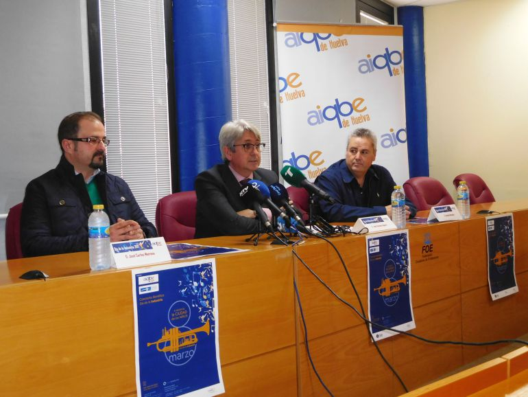 Presentación del concierto solidario por el Día de la Industria.