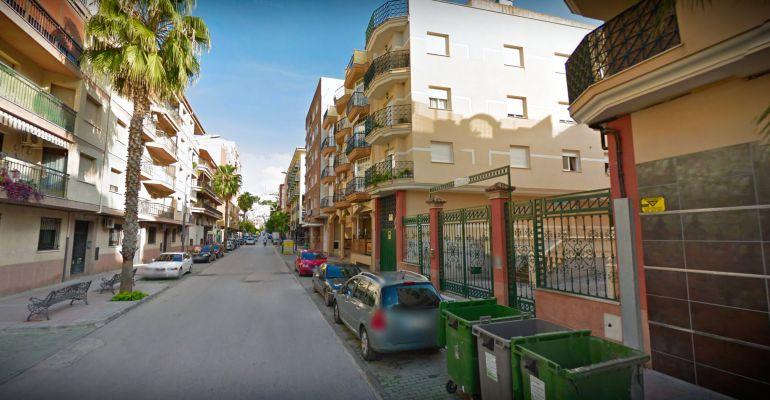 Número 91 de la avenida de San Amador de Martos donde se ha producido el incendio.
