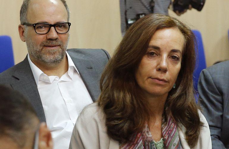 Mercedes Coghen, asiste a la presentación de las conclusiones del juicio del caso Nóos.