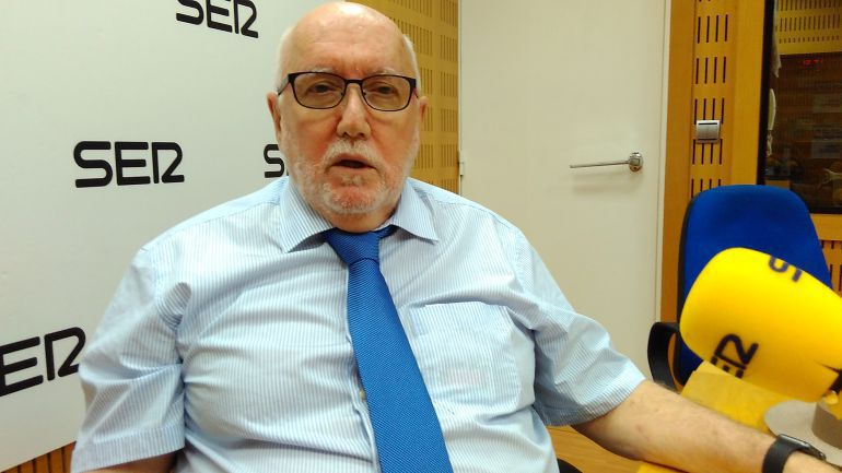 Manuel López Bernal, fiscal superior saliente de la Región de Murcia.