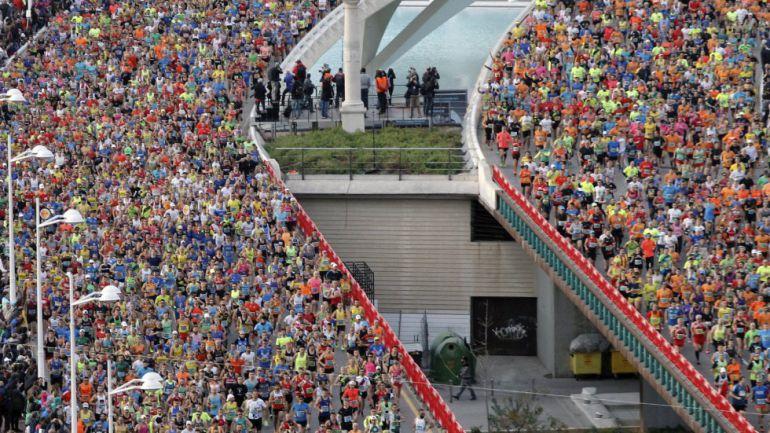 Maratón de Valencia en la actualidad