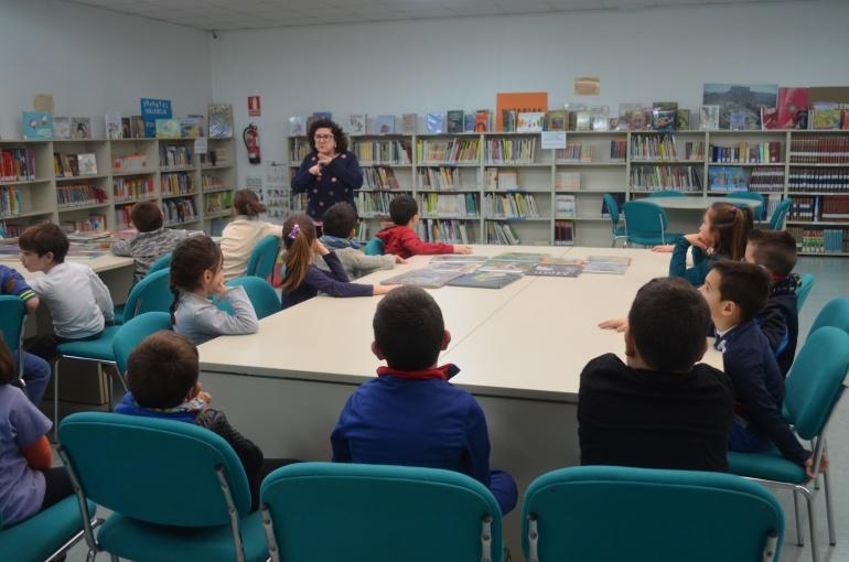 Visita de los alumnos y alumnas de 1ºC de le línea de valenciano del C.P. Reina Sofía