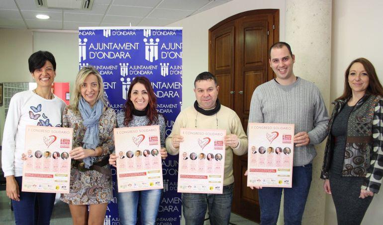 Presentación del I Congreso Solidario 'El poder del corazón', a beneficio de la infancia, en Ondara.