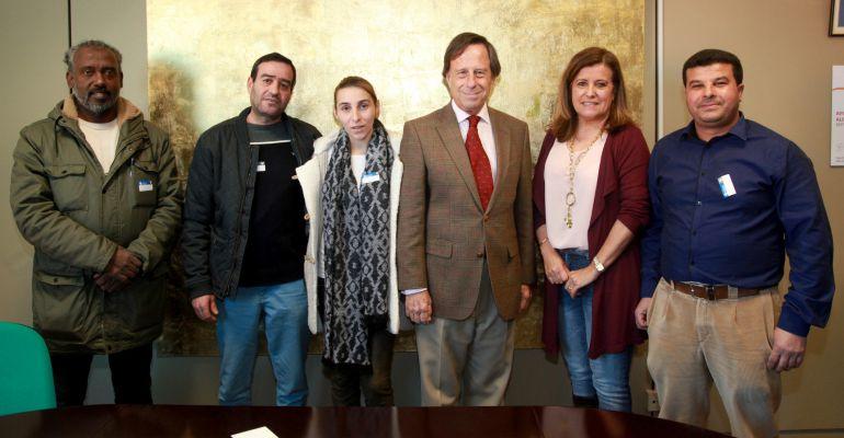 Acto de entrega de las viviendas sociales del ayuntamiento de Alcobendas