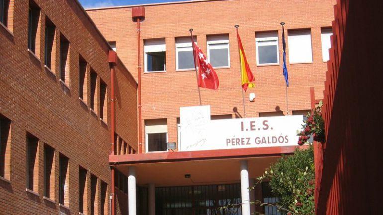 La Comunidad de Madrid aboca al cierre al IES Pérez Galdós