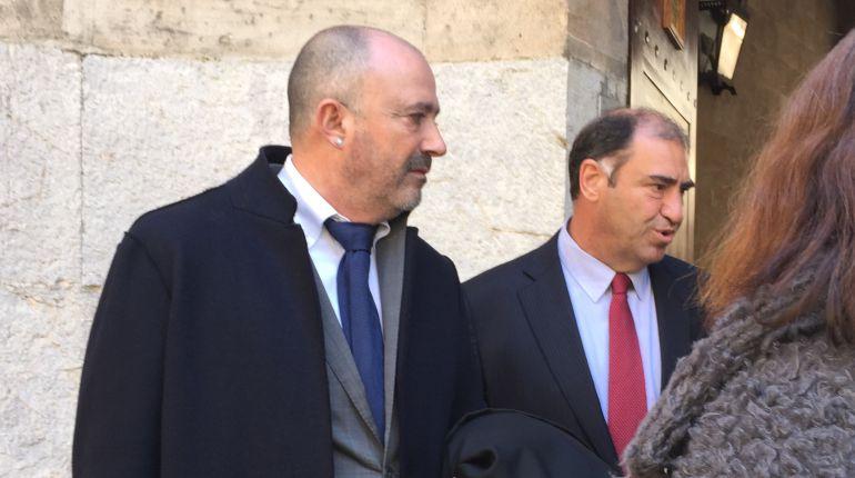 Miguel Ángel Subirán (a la derecha de la imagen).