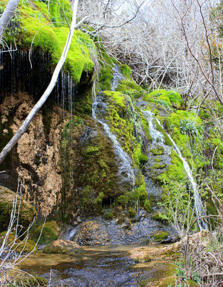 A la Tobilla se le conoce también como el otro nacimiento del río Cuervo.