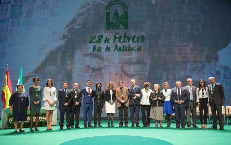 Día de Andalucía: Los galardonados por el 28-F agradecen sus reconocimientos