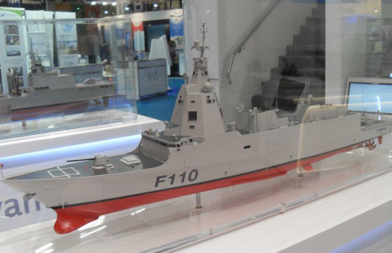 Prototipo de la fragata F110