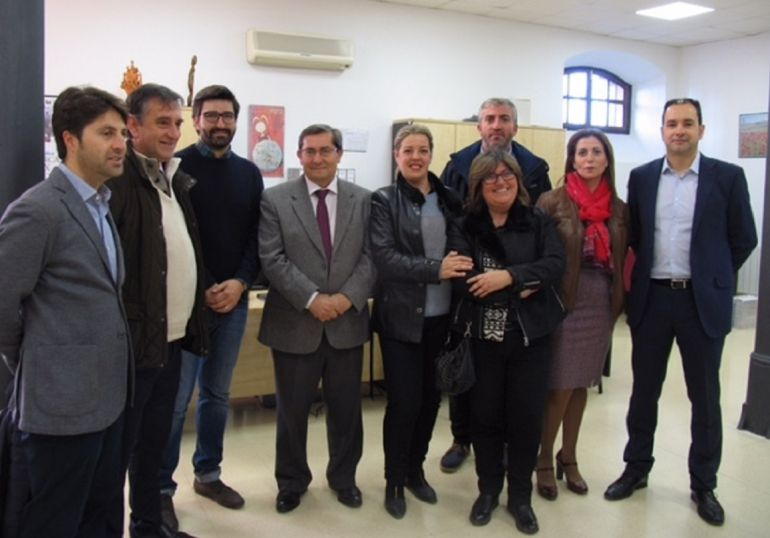 Responsables políticos de la Junta de Andalucía, Diputación de Granada y de municipios de las comarcas de Guadix, Baza y Huéscar