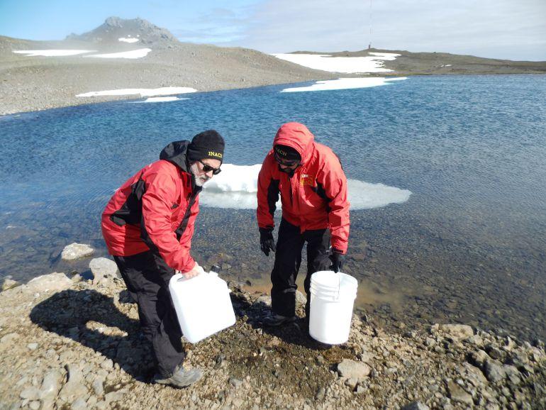 Félix Hernández vivió durante más de un mes en la Antártida para realizar investigaciones científicas
