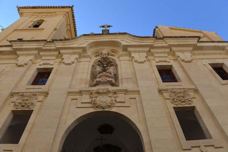 La parroquia de la Magdalena se ubica, actualmente, en la iglesia del convento del Corpus Christi