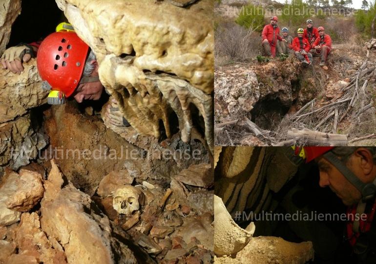 Han descubierto varias cavidades en las que para sorpresa de los espeleólogos, hay gran cantidad de cerámicas y restos óseos, algunos de seres humanos. Ya han puesto el asunto en conocimiento de las autoridades para que puedan investigar los restos encontrados.