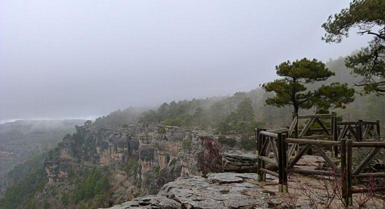 Mirador del Tío Cogote en Las Majadas (Cuenca).