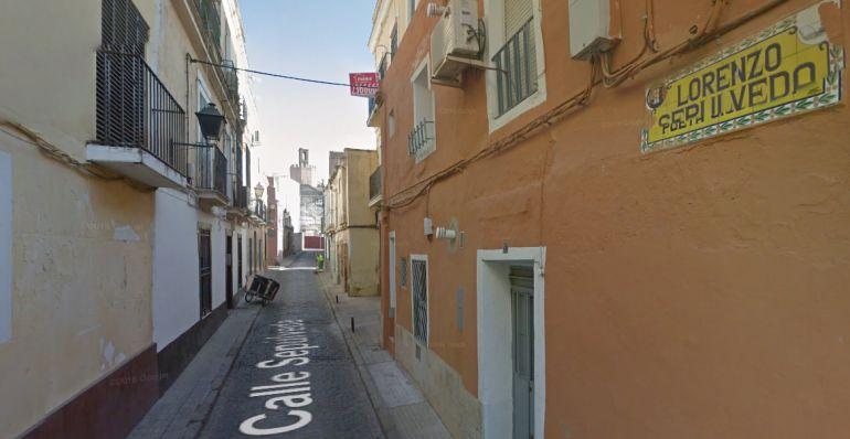 La operación antidroga se produjo en una vivienda de la calle Sepúlveda (Badajoz).