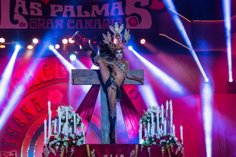 FOTOGALERÍA | Gala 'drag queen' del carnaval de Las Palmas.