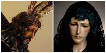 Vera+Cruz (Los verdes) de Alhaurín el Grande y la Hermandad de Nuestro Padre Jesús Nazareno (Los moraos) de Almogía