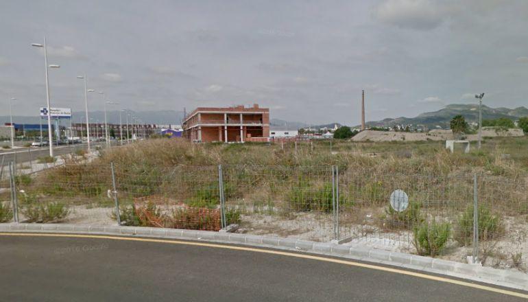Terrenos de Sanxo Llop donde quiere instalarse Conforama